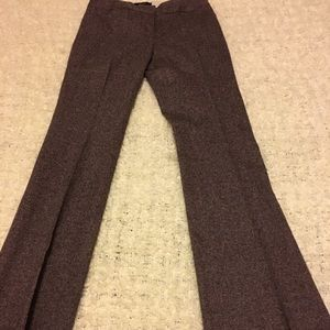 Body By Victoria purple tweed wool pants Size 2L